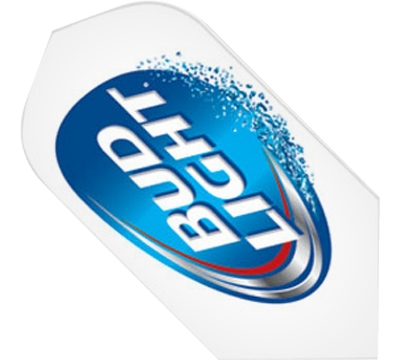 Bud Light White Slim Flight