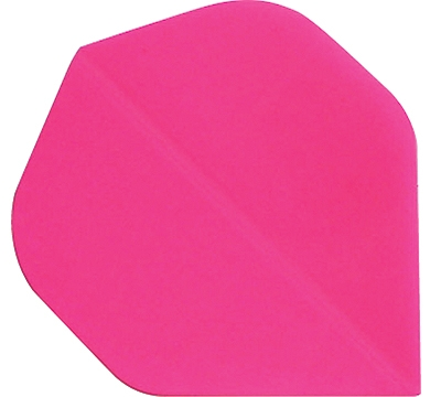 NEON PINK STANDARD HARD POLY FLIGHT