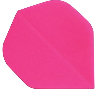 Neon Pink Standard Hard Poly Flight