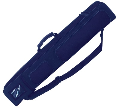 Porper VIP Cue Case 2 Butt/4 Shaft Cordura Blue