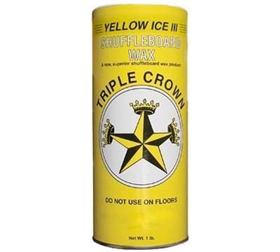 Yellow Ice III Shuffleboard Wax