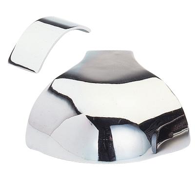 Chrome Rail Caps