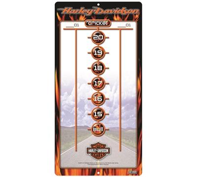 Harley-Davidson Flame Dry Erase Scoreboard
