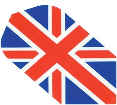 BRITISH FLAG HARD POLY SLIM FLIGHT