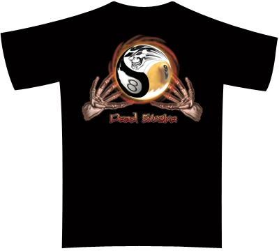 Dead Stroke Pool T-Shirt – Magic Ball