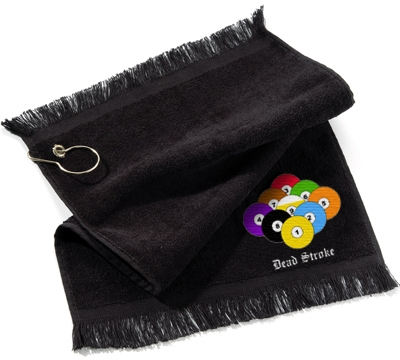 Dead Stroke Towel 9 Ball Rack