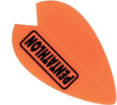 Pentathlon Poly Vortex Neon Orange Flight