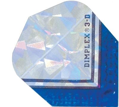 Silver/Blue Dimplex 3D Flight