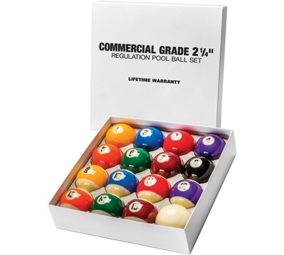 Commercial Pool Ball Set