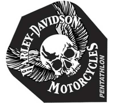 Harley-Davidson® Standard Poly Flight Skull