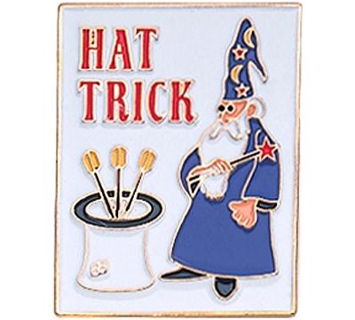 Hat Trick Pin
