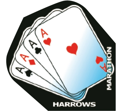 Aces Marathon Hard Poly Standard Flight