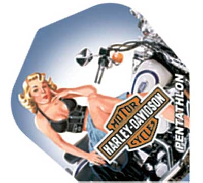 Harley-Davidson® Standard Pinup Pentathlon Flight