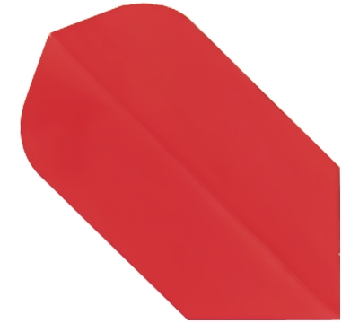 Red Hard Poly Slim Flight