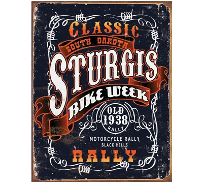 Sturgis Classic Rally Metal Sign