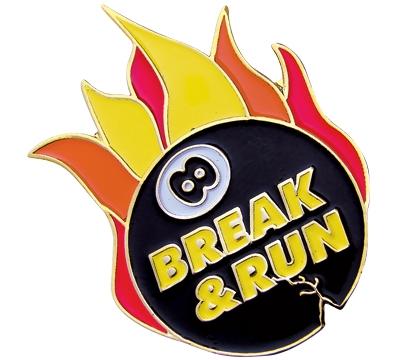 8-Ball Break and Run Pin