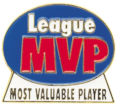 League MVP Pin