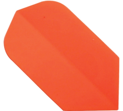 Neon Orange Hard Poly Slim Flight