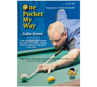 Gabe Owen's One Pocket My Way DVD – Beginner/Intermediate