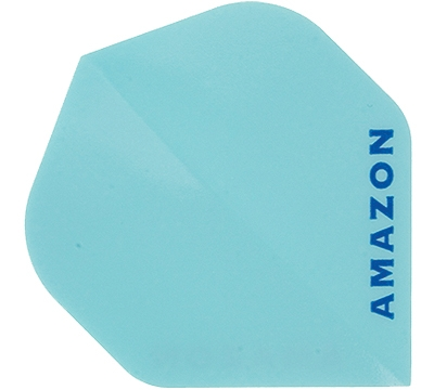 Light Blue Amazon Hard Poly Flight