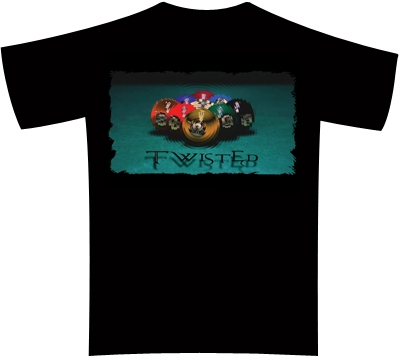 Pool Shots T-Shirt – Twisted