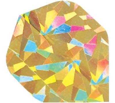 Gold Broken Glass Flight