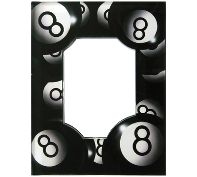 Billiards Acrylic 8-Ball Frame