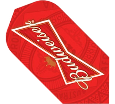 Budweiser® Bowtie Red Slim Flight