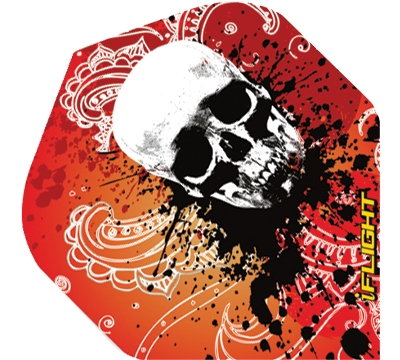 i-Flight Paisley Skull Standard Flight