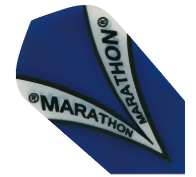 Blue Marathon Hard Poly Slim Flight