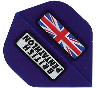 British Pentathlon Poly Standard Flight Blue