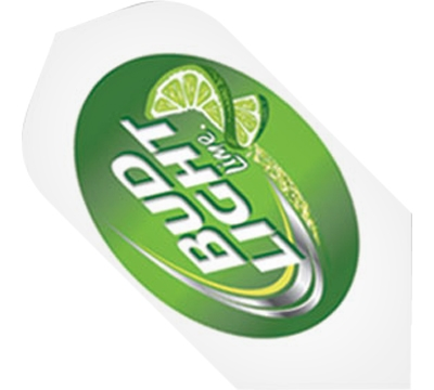 Bud Light Lime White Slim Flight