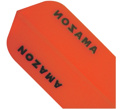 Orange Amazon Hard Poly Slim Flight