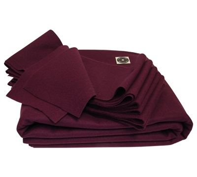 8' Precut 22 Oz Forstmann Cloth Plum