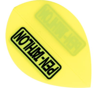 Pen-tathlon Poly Pear Neon Yellow Flight
