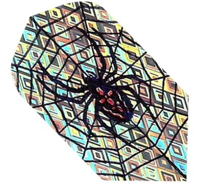 Spider in Web 2D/3D Slim Flight