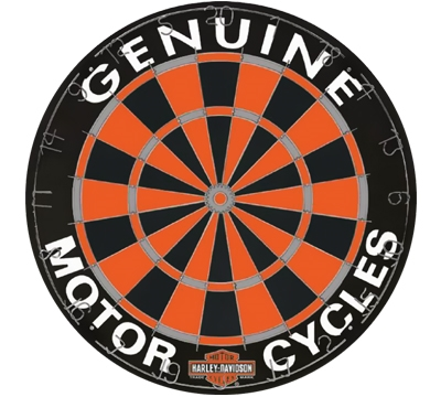 Harley-Davidson Competition Bristle Dartboard