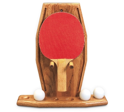 Oak Table Tennis Rack