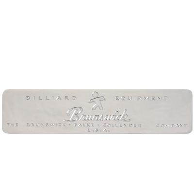 Brunswick Rail Plate 1945-1960