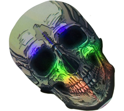 Skull/Silver 2D/3D Slim Flight