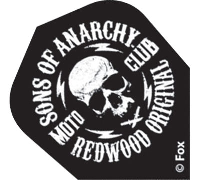 Sons Of Anarchy Moto Club Skull Standard Flight