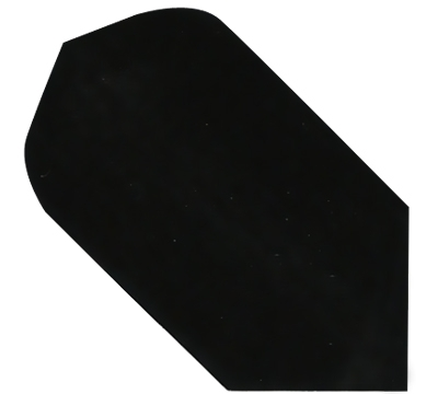Black Hard Poly Slim Flight