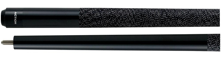 "48"" Black 2-Piece Junior Cue"