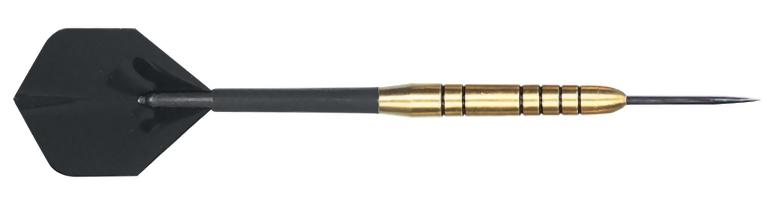 Exec Brass Steel Tip Dart 22g plain