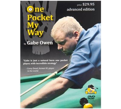 Gabe Owen's One Pocket My Way DVD – Advanced