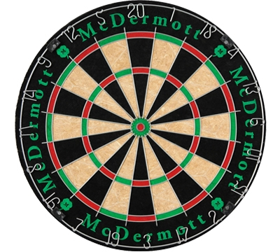 McDermott Bristle Dartboard