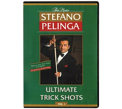 Stefano Pelinga's Ultimate Trick Shots Vol 1 DVD