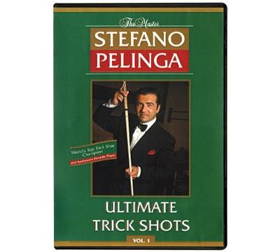 Stefano Pelinga's Ultimate Trick Shots Vol 1 DVD