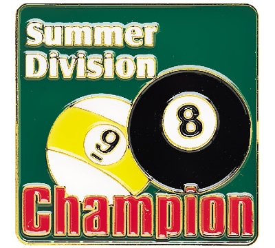 Summer Division Champion Pin