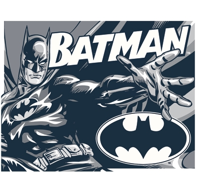 Batman Metal Sign